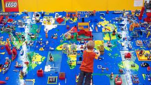 LEGO Weltkarte Bauevent ab Mitte Mai 2015 im LEGOLAND Discovery Centre Oberhausen