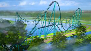 """SeaWorld Orlando kündigt """"Mako"""" an – Hypercoaster von Bolliger & Mabillard eröffnet im Sommer 2016"""