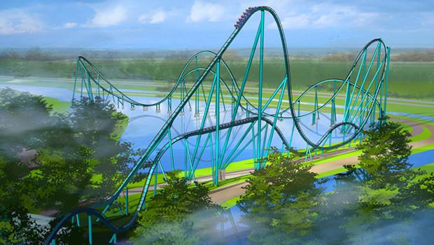 Mako im SeaWorld Orlando - Konzept 1