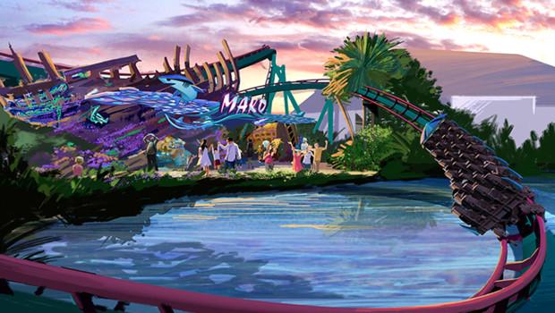 Mako im SeaWorld Orlando - Konzept 3