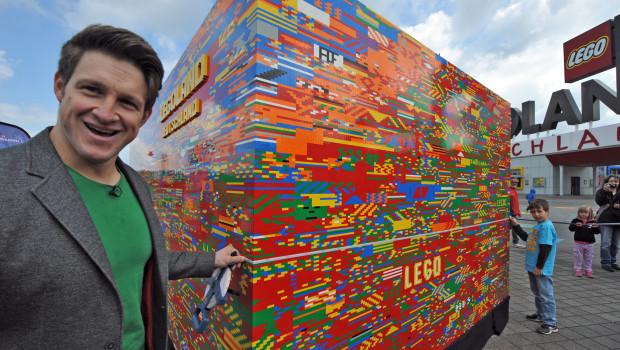Matthias Steiner - Größter Legostein der Welt