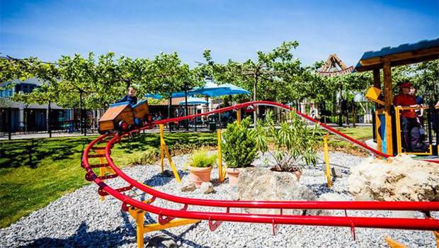Mini-Achterbahn im Familypark Neusiedlersee