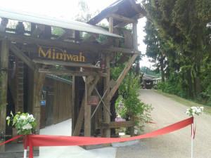 Miniwah Eröffnung im Freizeitpark Plohn