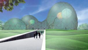 """Saurierpark Kleinwelka baut """"MITOSEUM"""": neuer Eingangsbereich eröffnet 2016"""