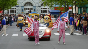 Movie Park Germany Parade 2015