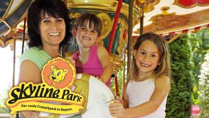 Muttertag 2015 im Skyline Park: Freizeitpark schenkt Müttern den Eintritt