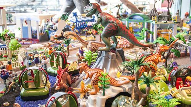 Oliver Schaffer Ausstellung 2015 im Playmobil FunPark - 1