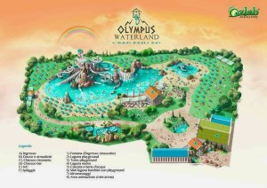 Olympic Waterland in Rainbow MagicLand - Konzept