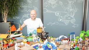 Playmobil FunPark Oliver Schaffer Ausstellung 2015