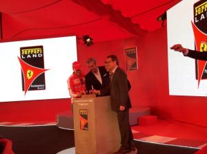 PortAventura Ferrari Land Grundstein