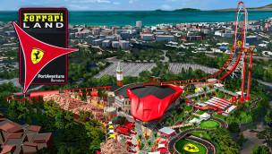 PortAventura eröffnet Ferrari Land mit höchster Achterbahn Europas erst 2017