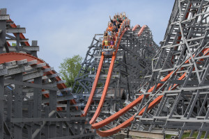 Unzählige Airtime-Momente bei Wicked Cyclone (Foto: Six Flags New England)