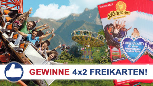 Gewinne 4×2 Eintrittskarten für den Allgäu Skyline Park beim Freikarten-Freitag KW22/2015