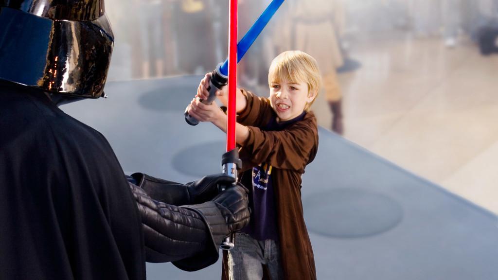 Star Wars Jedi Training Academy im Disneyland Paris
