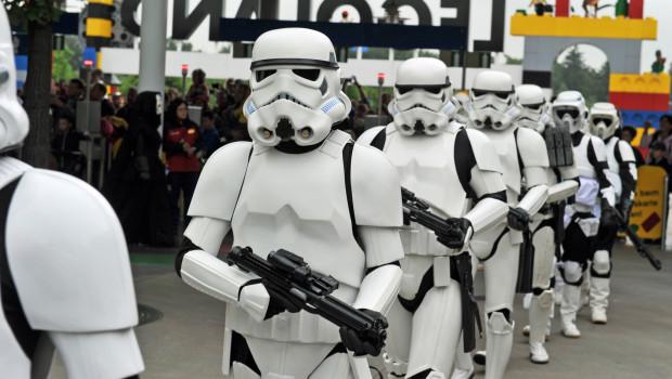 Star Wars Stormtrooper im LEGOLAND Deutschland