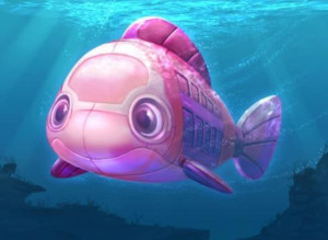 U-Boot der Findet Dorie Attraktion - Konzept
