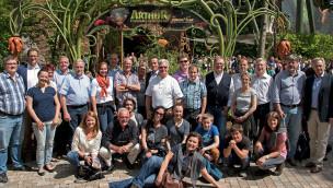 Verband der Deutschen Vergnügungsanlagen-Hersteller besucht Europa-Park