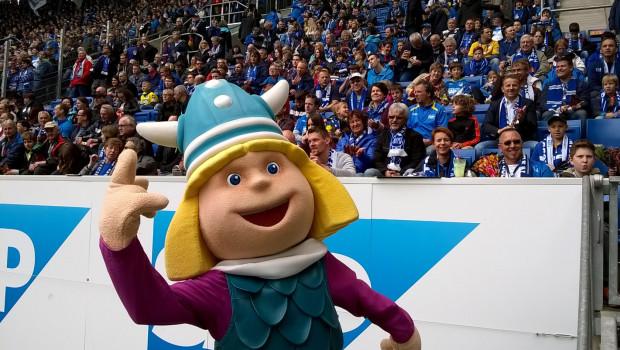 Wickie in der Wirsol Rhein-Neckar-Arena