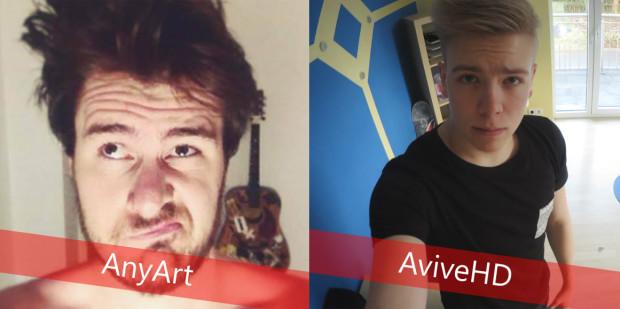 AnyArtLP und AviveHD beim XXL TuberDay 2015