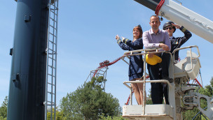 Holiday Park – Konstruktions-Countdown für neue Attraktion Sky Fly