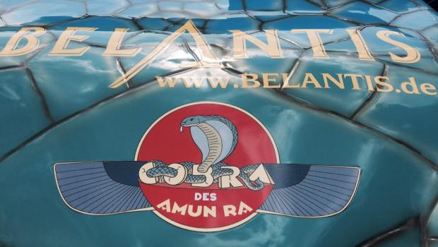 Belantis - Zug der Cobra des Amun Ra Zug
