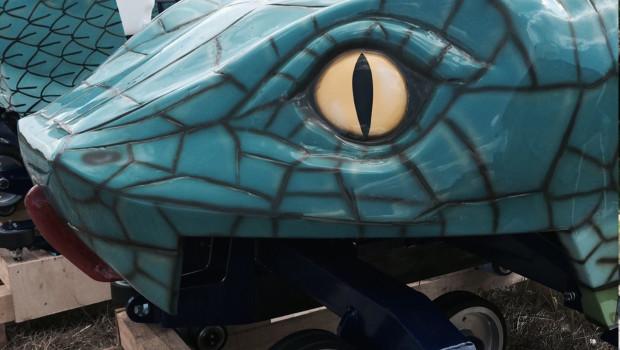 Cobra des Amun Ra Achterbahnwagen