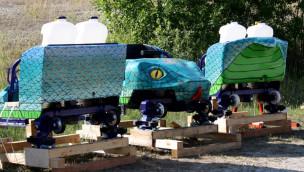 """Belantis feiert Ankunft der """"Cobra des Amun Ra"""" und Schienenschluss bei neuer Achterbahn"""