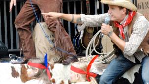 Cowboys im Eifelpark Gondorf