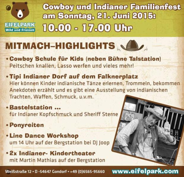 Eifelpark Gondorf Country-Wochenende 2015