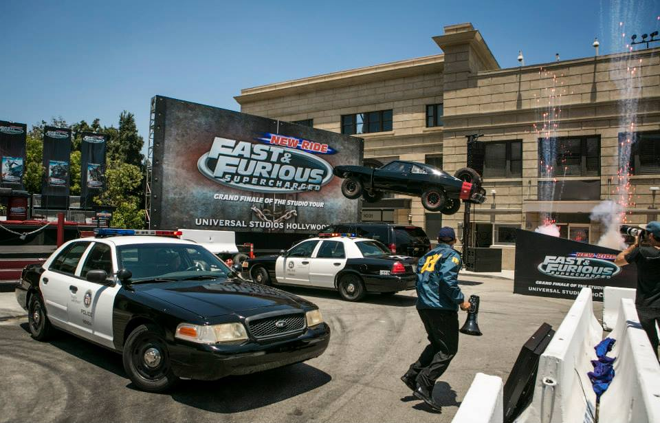 Car Stunt Show In Hollywood Studios