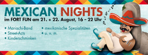 Banner der Mexican Nights.