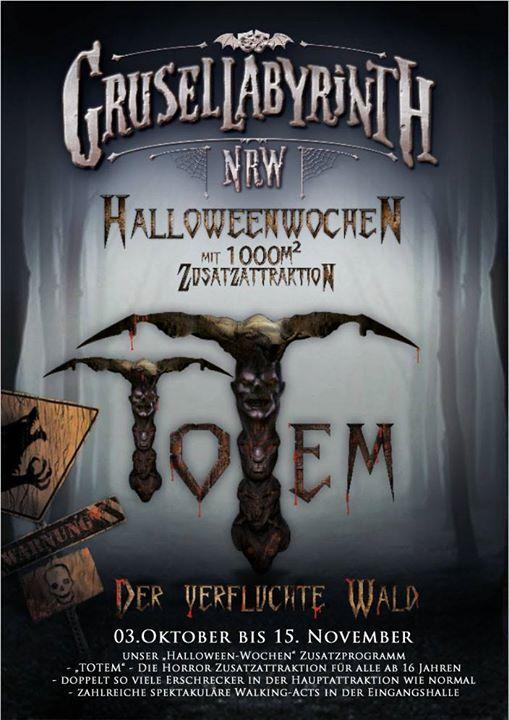 Grusellabyrinth NRW Halloween-Wochen 2015
