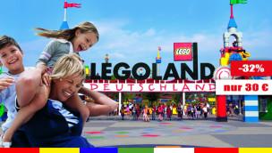 Günstige LEGOLAND Deutschland Tickets 2015 – nur 30 Euro p.P. mit 32% Rabatt!