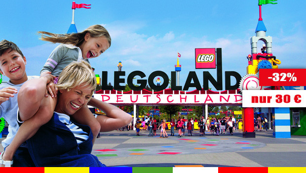 Günstige LEGOLAND Deutschland Tickets 06/15