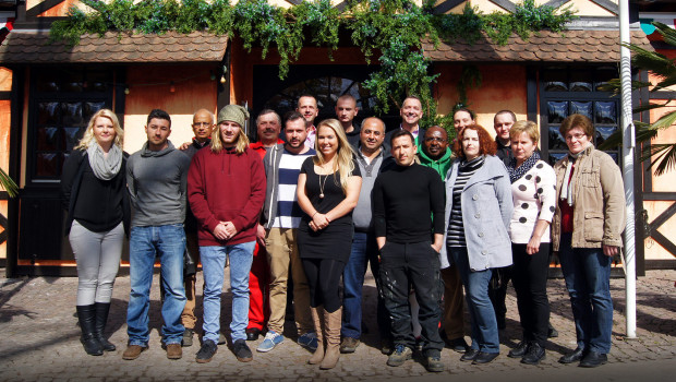 Holiday Park Mitarbeiter international