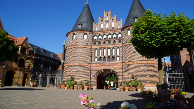 Holstentor im Hansa-Park