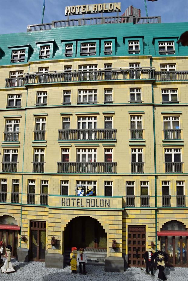 Hotel Adlon im LEGOLAND Deutschland