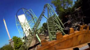 KÄRNAN macht Testfahrten: Bilder und Videos inkl. OnRide der neuen Achterbahn im Hansa-Park