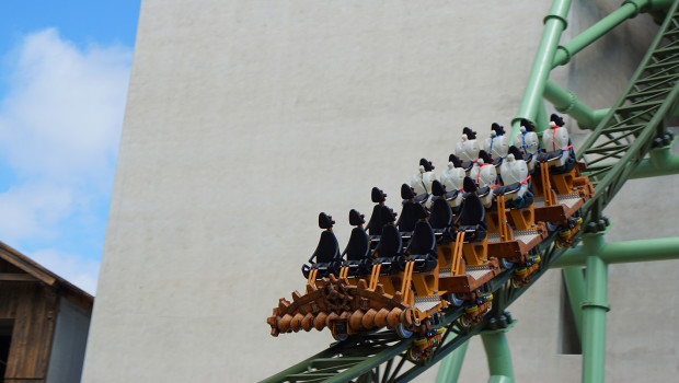 KÄRNAN Turmausfahrt bei Testfahrt