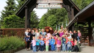 Kinder im Eifelpark Gondorf