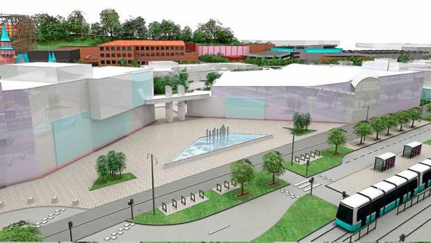 Liseberg Eingang Plan