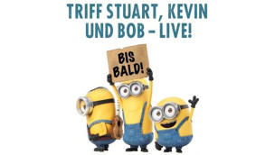 Minions on Tour 2015 im Filmpark Babelsberg: Meet & Greet am 3. Juli