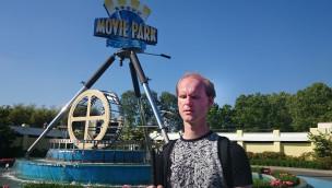 Movie Park Germany als Blinder besuchen - Christian Ohrens testet