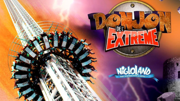 Nigloland Free Fall Tower-Ankündigung