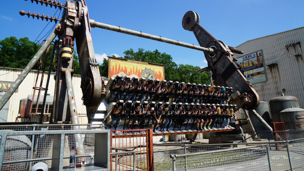 NYC Transformer im Movie Park Germany
