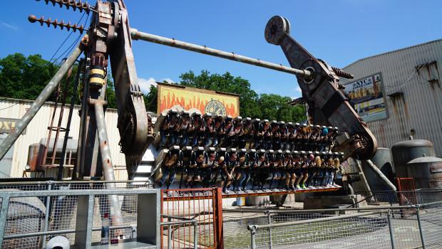 NYC Transformer im Movie Park Germany