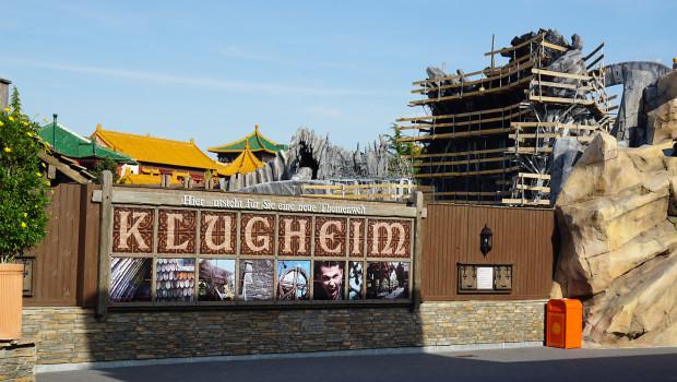 Phantasialand Baustelle von Klugheim im Juni 2015 1