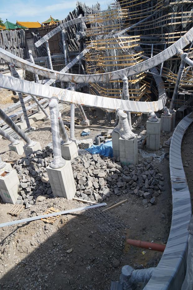 Phantasialand Baustelle von Klugheim im Juni 2015 3