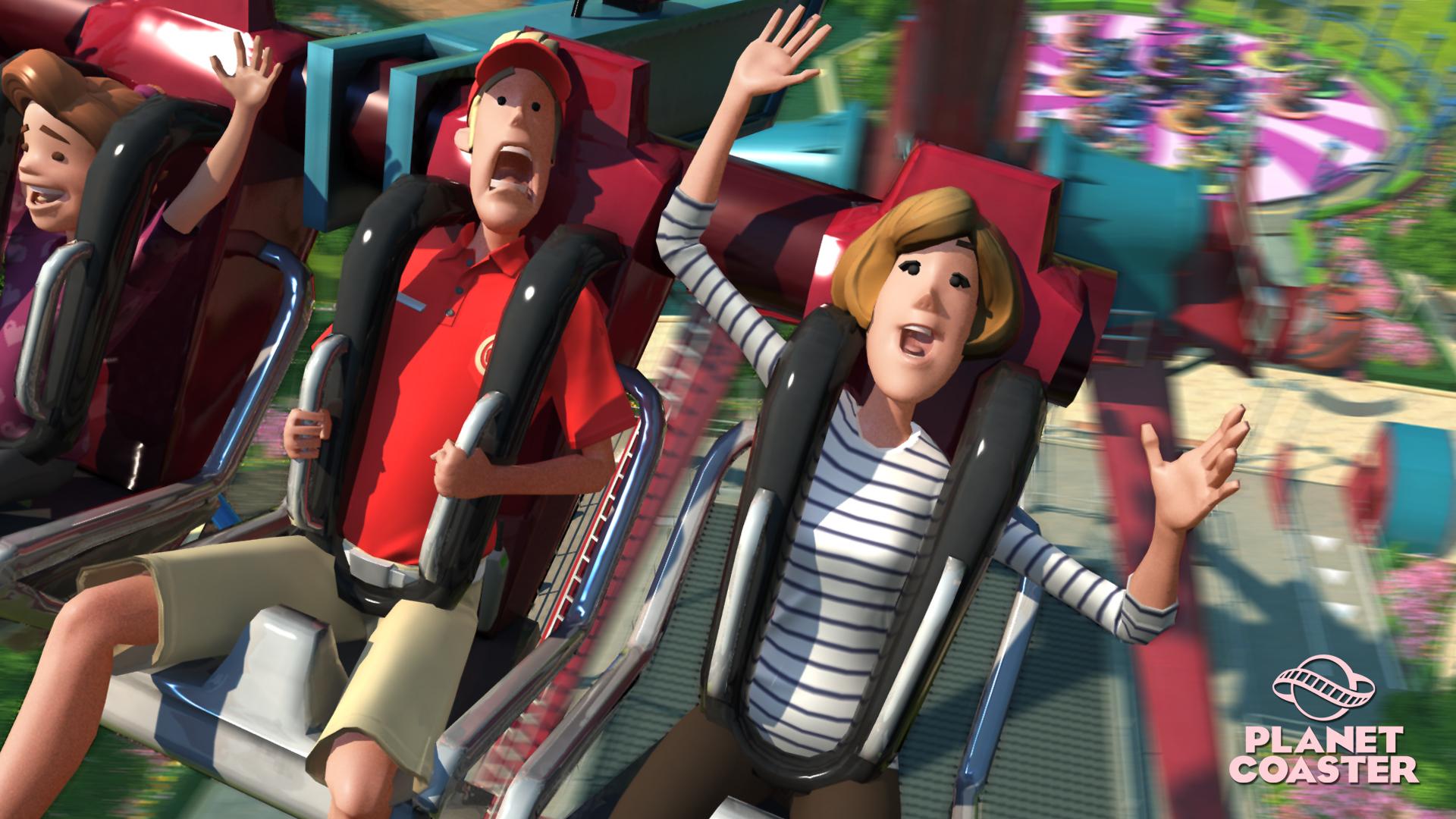 In Planet Coaster K&246nnt Ihr Euren Virtuellen Besuchern Eines Erlebnis