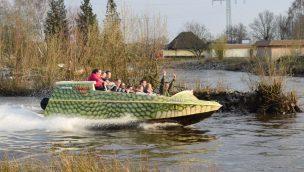 Black Mamba Jetboats im Serengeti-Park eingeweiht